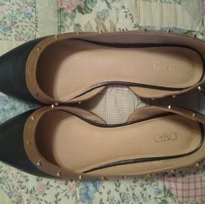 Cato Shoes - Cato Black and Tan flats size 9
